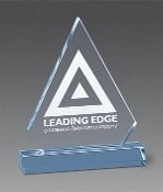 Acrylic award - Pinnacle Award