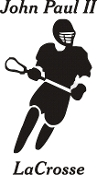 Vinyl sticker - Male LaCrosse with school only no player