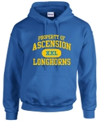 Ascension Spirit Property of hooded sweatshirt