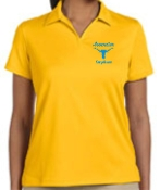 Ascension Spirit Womens moisture wicking polo