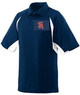 Sports Reach Baseball Mens Polo Augusta 5090