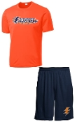 Lyndon Lightning Player Pack practice shirt and shorts
