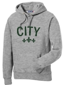 City Athletic Gray Hoodie F281