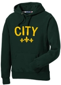 City Forest Green Hoodie F281