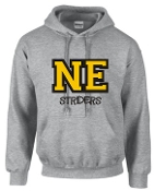 NE Striders Tackle Twill Hooded sweatshirt 50/50 blend G18500