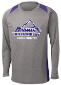 Barret CC Long sleeve Gray Purple Tshirt ST361LS