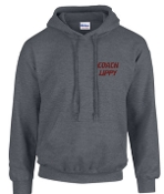 OCYFL All Star COACHES ONLY Gray Hooded sweatshirt G185