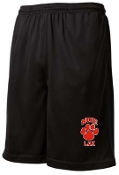 Noe Middle Lax Black pocketed shorts ST312