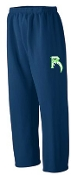 Highview Raptors open bottom sweatpants G184