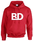 BD Hooded Gildan Brand Sweatshirt G18500
