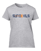 Sun Devils Womens cut cotton Tshirt