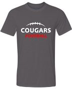 Noe Middle Football Charcoal polyester tshirt G420