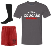 Noe Middle Football Player Pack full set Charcoal