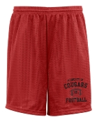 Noe Middle Football Red shorts ST355