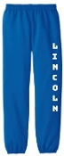 Lincoln XC sweatpants with elastic cuff PC90YP