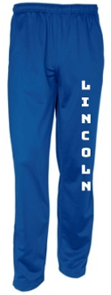 Lincoln XC Youth track pants YPST91