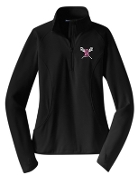 Ballard LAX Ladies 1/2 zip  pullover LST850