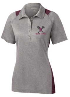Ballard Lacrosse Heather Contender Ladies polo LST665