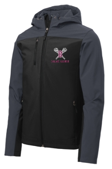 Ballard Lacrosse Hooded soft shell Jacket J335