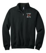 Louisville Ice Cardinals Youth 1/4 zip sweatshirt 995Y
