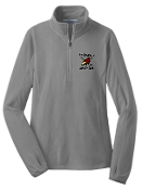 Louisville Ice Cardinals Women 1/2 zip pullover L224