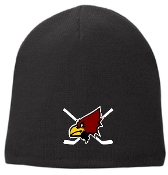 Louisville Ice Cardinals CP91L Black Beanie
