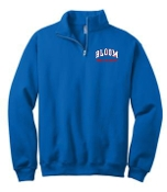 Bloom Elementary Cross Country 1/4 zip sweatshirt 995M