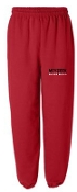 Meyzeek Baseball Red elastic bottom sweatpants G182