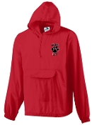 Noe Middle School Lacrosse Red Rain jacket Aug 3130