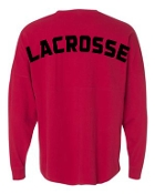 Noe Middle School Lacrosse Red Spirit Shirt 22328