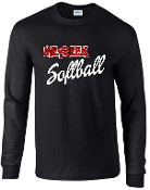Meyzeek Softball Long sleeve T-shirt cotton G2400