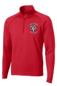 Meyzeek Softball Ladies 1/2 zip  pullover LST850