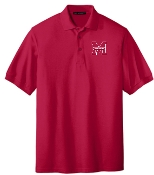Manual Marching Band K500 red collared standard polo