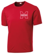 Manual Marching Band moisture wicking t-shirt ST350