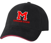 Manual Marching Band embroidered hat Bayside 3621