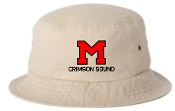 Manual Marching Band TAN embroidered bucket hat Sportsman 2050