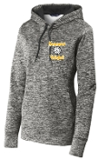 Kammerer Volleyball Fleece Ladies Hood Black pullover LST225