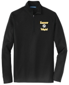 Kammerer Volleyball Mens Black 1/2 zip  pullover K806