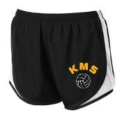 Kammerer Volleyball Black/white/black spirit shorts LST304