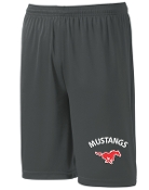 St Margaret Mary Iron Gray coaches pocketed shorts ST355P