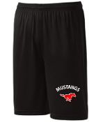 St Margaret Mary black shorts ST355/YST355