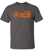 Fern Creek Soccer G2000 Charcoal Gray Varsity T