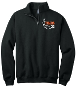Fern Creek Soccer Black 1/4 zip sweatshirt 995M