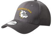 Louisville Male Football Alumni NE1020  Charcoal hat