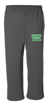 Alex Kennedy Open Bottom Charcoal sweatpants G18400