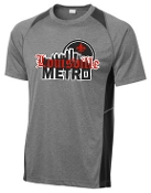 Louisville Metro High School Hockey Colorblock T ST361