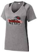 Louisville Metro High School Hockey Ladies Colorblock T LST361