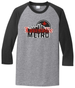 Louisville Metro High School Hockey Raglan Tshirt PC55RS