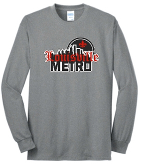 Louisville Metro High School Hockey Long Sleeve T shirt PC55LS