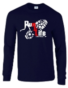 Run 4 Life G2400 100% cotton long sleeve T-shirt